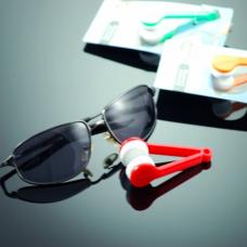 Микрофибърна четчица за почистване на очила