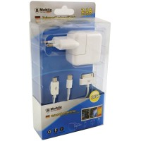 Универсален комплект зарядно устройство с микро USB кабел и iPhone 1 - 6