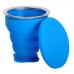 Сгъваема чаша за микровълнова стерилизация на менструална чашка