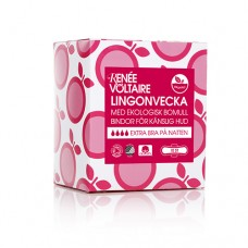 Нощни дамски превръзки Renee Voltaire от 100% органичен памук - 10 броя