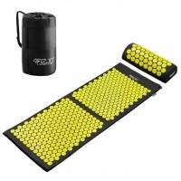 Килимче за масаж XXL с размери 120 х 46 см. с възглавница, чантичка за съхранение и безплатна доставка