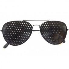 Перфорирани очила лукс метални