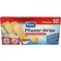 Водоусточиви лепенки за рани FIGO в телесен цвят - 50 броя