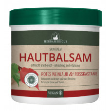 Балсам с червени лозови листа и конски кестен Herbamedicus 250 мл.