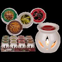 Арома лампа с различни аромати восък