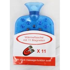 Термофор с магнити - Бутилка за топла вода с 11 магнита