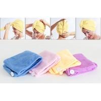 Микрофибърна кърпа за подсушаване на коса