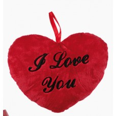 Плюшено сърце I Love You